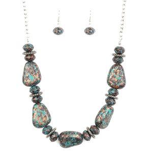 Prehistoric Fashionista multi necklace
